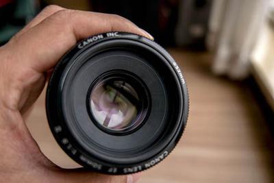 自用的佳能 EF 50mm f/1.8