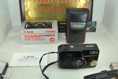 带箱说 JCBM FA868D 135胶片胶卷傻瓜相机 收藏