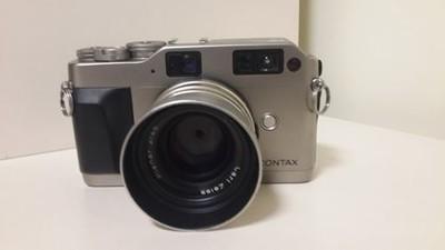 Contax康泰时|蔡司 G1 G45 单反 胶片 套机