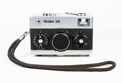禄来 ROLLEI 35 银色 135胶卷旁轴相机 施耐德镜