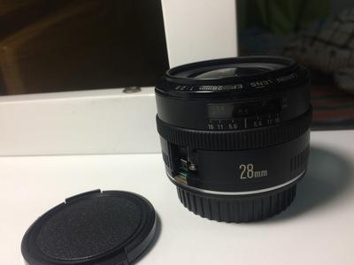 佳能 EF 28mm  f2.8  (不能对焦)
