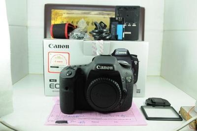 佳能 7D 数码单反相机 半幅顶级 高端专业机型