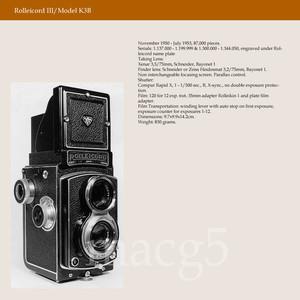 禄来 rolleicord III K3B 德产双反相机 1