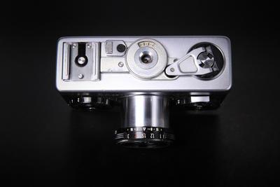 徳产北美版禄来 Rollei 35 方钮原型机 天塞 旁轴