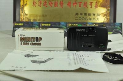 带箱说 TOPICO 135胶片傻瓜相机 便携小巧