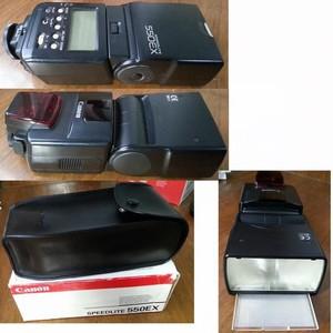 CANON佳能550EX闪光灯,包装配件说明书齐全