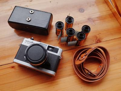 美能达 旁轴七剑之一 美能达 7s2 机械旁轴胶片相机 40