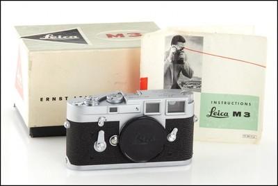 徕卡 Leica M3 银色 单次过片 经典旁轴M机 好成色 带包装