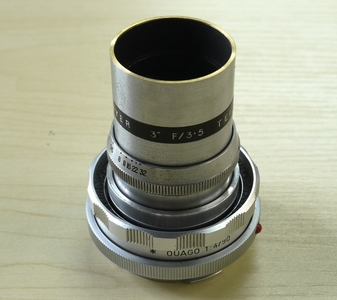 英国刀梅 Dallmeyer 75mm f3.5 C口电影镜头 已改M口