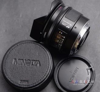 MINOLTA 美能达 AF 16/2.8 鱼眼镜头 16mm f2.8 索尼口 可转接