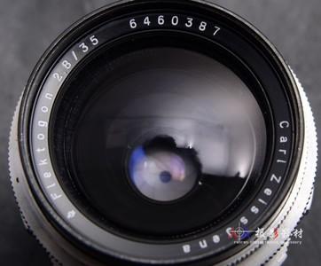 ZEISS 蔡司 35/2.8 M42口 flektogon 白银 可转接