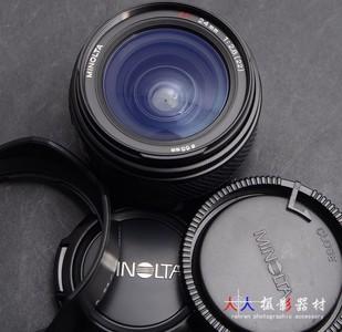 MINOLTA 美能达 AF 24/2.8 24mm f2.8 索尼口 可转接nex A7