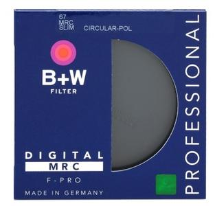 B+W 67mm 超薄CPL