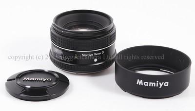 【美品】MAMIYA/玛米亚 645 AF 80/2.8 Sekor D 镜头#HK6500X