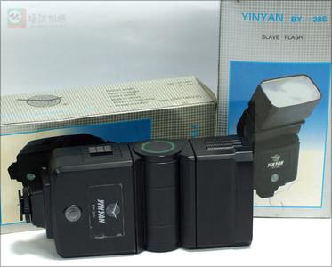 全新库存银燕DY-28S同步闪光灯 可与其他闪光灯同步闪光功能 通用型