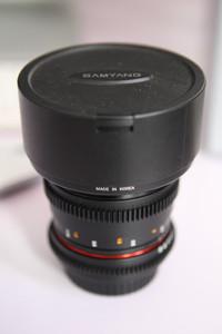 出售 99新 佳能 samyang 三阳 EF 视频镜头14mm t3.1 f2.8 电影头