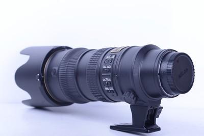 95新 尼康 70-200/2.8 G  防抖镜头 性能完好