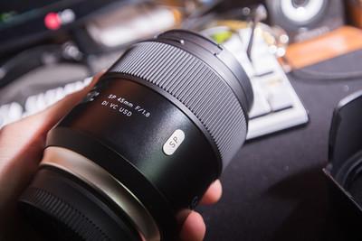 腾龙新镜头 SP 45mm f/1.8 定焦