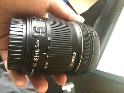 EF-S 10-18mm f/4.5-5.6 IS STM 99新 带发票 包邮