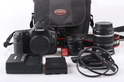 佳能 单反相机 60D 套机 50 F1.8 + 18-55