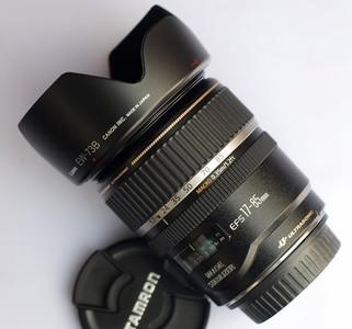 佳能EF17-85 mm f/4-5.6 IS USM 自取送遮光罩 诚信交易支持验货!