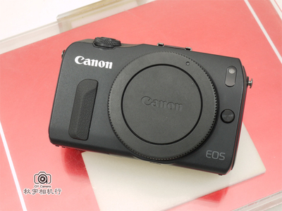 店庆88折!1600万像素佳能首款微单相机 Canon EOS M1 黑色 单机身 全套带盒