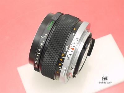 店庆88折 奥林巴斯50/1.4 Olympus OM 50mm F1.4 【良品】449704