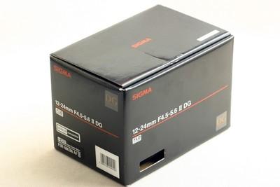 适马 12-24mm f/4.5-5.6 EX DG HSM(尼康卡口)行货,包装全