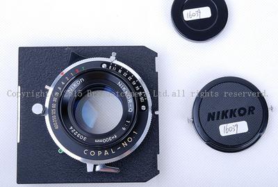 【美品】NIKON/尼康 NIKKOR-Q 300/9 8X10座机镜带双轨板 #jp16039