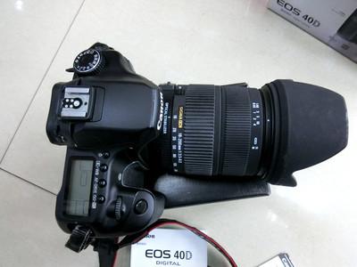 9成新佳能EOS 40D 带适马18-200 OS镜头