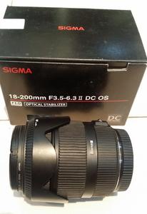 适马 18-200mm II F3.5-6.3 OS HSM 红圈 佳能口