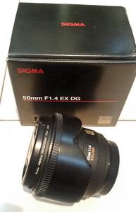 佳能口 AF 50mm F1.4 EX DG HSM