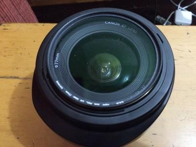 佳能 EF 17-40mm f/4L USM 转尼康出镜头