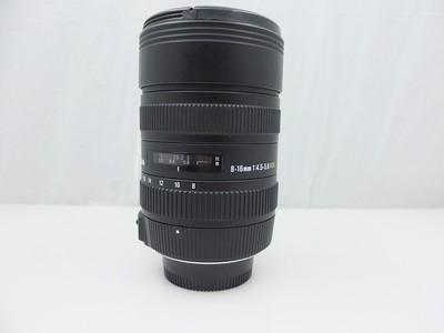 适马/sigma 8-16mm F4.5-5.6 超广镜头