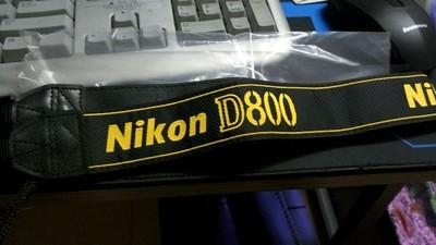 尼康D800原装肩带
