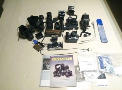 奥林巴斯OLYMPUS. MO胶片相机超级全套