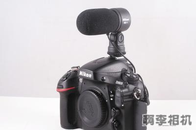 尼康/ NIKON ME1,me1麦克风,适合D800,D800E 拍摄视频用
