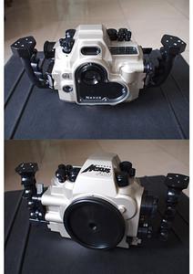 尼康f100相机+14mm、17-35mm带包装,专业水下潜水壳几乎全新