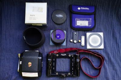 阿尔帕 ALPA 12SWA 施耐德36mm 中画幅技术相机