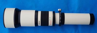 原装进口【德国威摄/Walimex】650-1300mm/F8-16长焦镜头