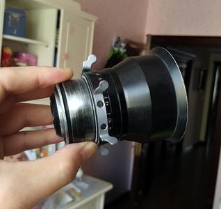 大型电影机拆下的 LOMO 28MM 镜头