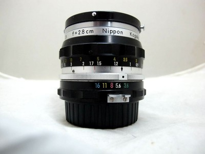 尼康 NIKKOR-H Auto 1:3.5 f=28cm(带皮筒 影友寄售)
