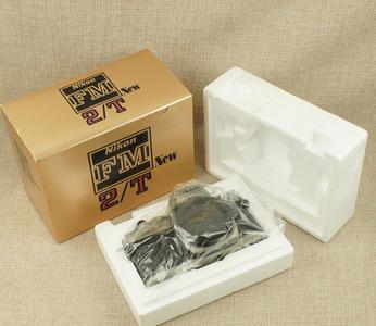 99新 尼康 FM2T 钛版 机械相机 收藏品 带包装盒 FM2