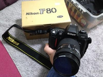 Nikon F80+35-135镜头