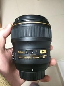 98成新尼康AF-S 35mm 1.4G(包装配件齐全)