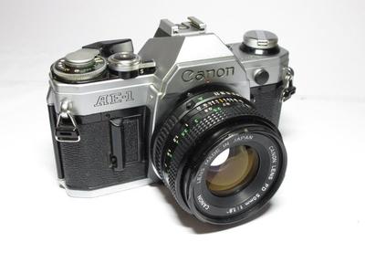 canon佳能AE-1+50mm/1.8