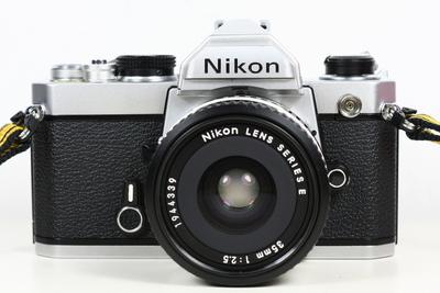 尼康 NIKON FM 日产135胶片单反相机 + 35/2.5 镜头