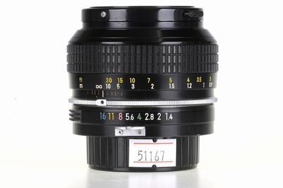 尼康/Nikon Nikkor 50mm F/1.4 non-AI 镜头