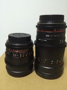 全新三阳电影镜头85和135两只4000