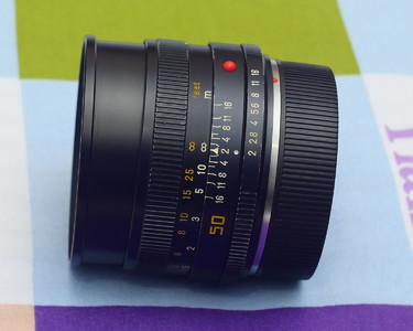 徕卡 Leica Summicron-R 50 mm f/ 2.0 E55 编号29开头
